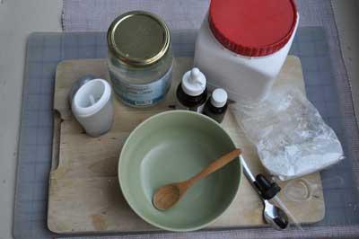 ev yapımı deodoran malzemeleri