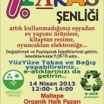 Maltepe Organik Halk Pazarı'nda Takas Şenliği